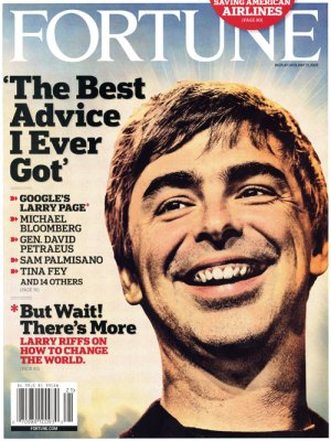Cover of Fortune Larry Page