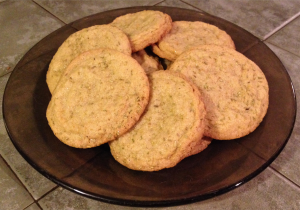 Rosemary Sugar Cookies