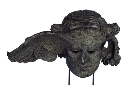 A bronze replica of a Roman copy of a Greek sculpture of Hypnos, from the British Museum, available for purchase at this link