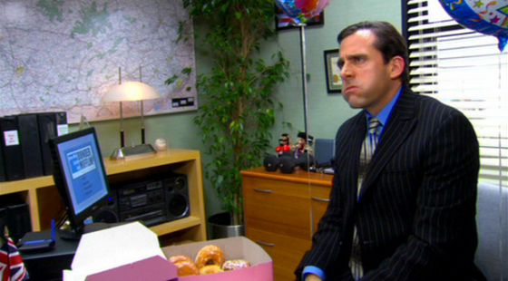 "A scene from NBC's ""The Office"""
